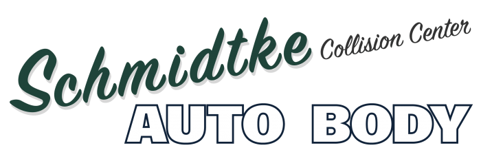 Schmidtke Auto body & Collision Center Logo